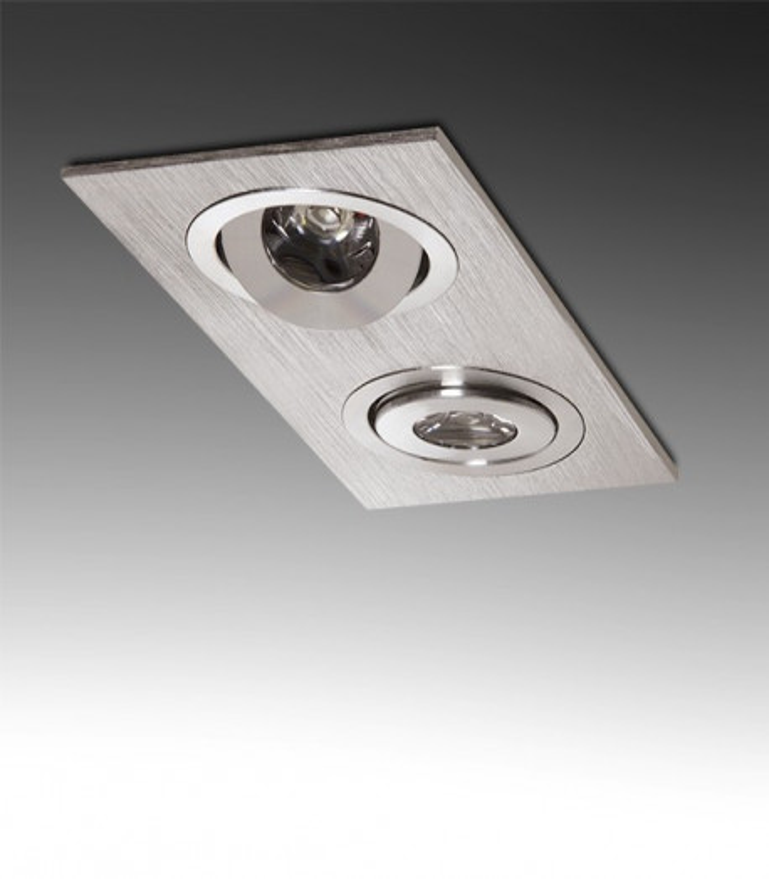 Foco Downlight de LEDs 2W 180Lm 30.000H